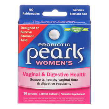 Enzymatic Therapy Women's Digestive & Yeast Balance Probiotic Pearls  - 1 Each - 30 SGEL