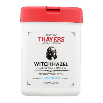 Thayers - Toner Twlttes Unscented - 1 Each - 30 CT