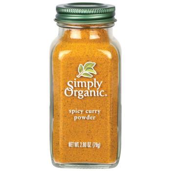 Simply Organic - Curry Powder Spicy - Case of 6 - 2.8 OZ