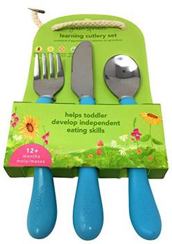 Green Sprouts - Cutlery Set Lrn Asst 12mo - 1 Each - 3 CT