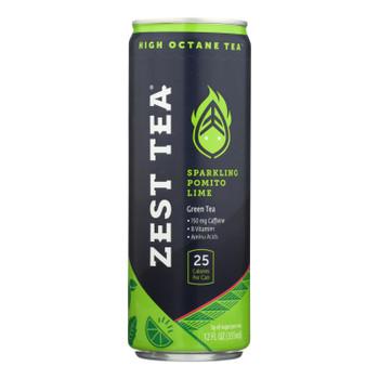 Zest Tea - Green Tea Rtd Pomgrn Mint - Case of 12 - 12 FZ