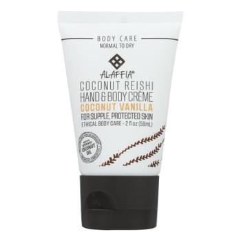 Alaffia - Hnd/bdy Cream Rshi Vanilla Trvl - Case of 12 - 2 FZ