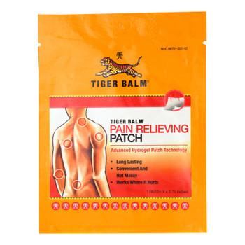 Tiger Balm - Tiger Balm Patch Single Srv - Case of 12 - 1 CT