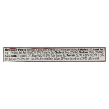 Core Foods - Bar Probiotic Dark Chocolate - Case of 8 - 2 OZ
