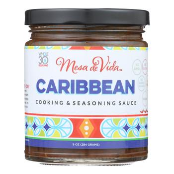 Mesa De Vida - Cookng Sauce Caribbean - Case of 6-9 OZ