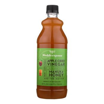 Wedderspoon - Apple Cider Vinegar W/manuka Honey - Case of 6 - 25 FZ
