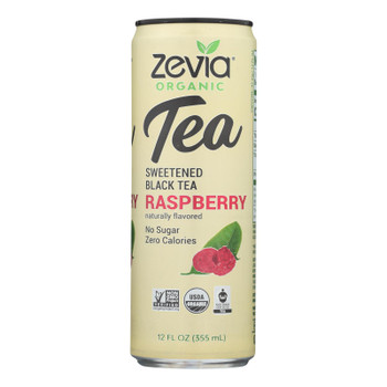 Zevia - Tea Black Raspberry - Case of 12 - 12 FZ