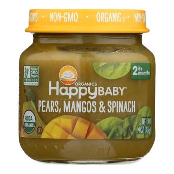 Happy Baby - Cc Pr Mango Spnch Stg2 - Case of 6 - 4 OZ