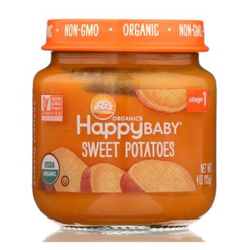 Happy Baby - Cc Sweet Potatoes Stg1 - Case of 6 - 4 OZ