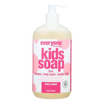 Everyone - Soap 3 In 1 Kds Berry Blast - 32 FZ