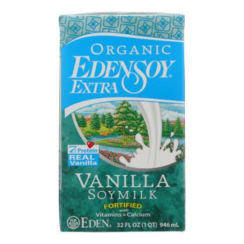 Eden Foods - Edensoy Extra Vanilla - Case of 12 - 32 FZ