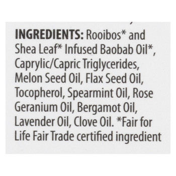 Alaffia - Baobab Rooibos The Dry Skin Body Oil Concentrate - 1 Each - 1 FZ