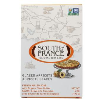 South Of France - Bar Soap Glzed Apricots - 1 Each - 6 OZ