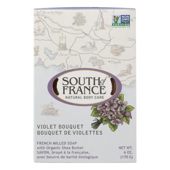 South Of France - Bar Soap Violet Bouquet - 1 Each - 6 OZ