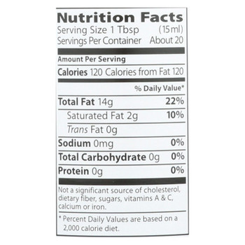 Eden Foods - Sesame Oil Toasted - Case of 12 - 10 FZ