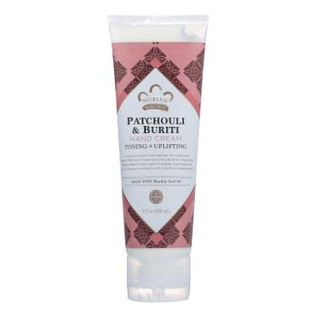 Nubian Heritage - Hand Cream Patchouli&buriti - 1 Each - 4 OZ