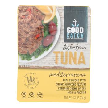 Good Catch - Fish Free Tuna Mediterran - Case of 12 - 3.3 OZ