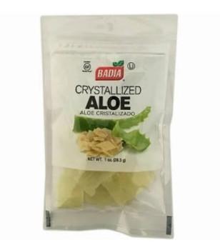 Badia Spices - Aloe Crystallized - Case of 12 - 1 OZ