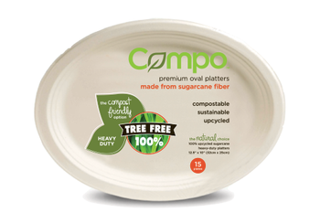 Compo - Platter 12 In 8x15 - Case of 8 - 15 CT