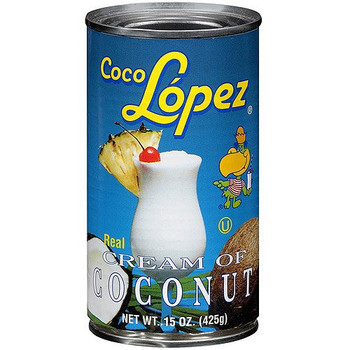 Coco Lopez Real Cream Of Coconut - Case of 12 - 15 FZ