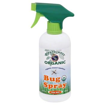 Greenerways Organic - Bug Spray Repellent - 1 Each - 16 FZ