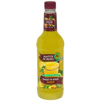 Master Of Mixes Premium Lemon Juice - 1 Each - 33.8 FZ