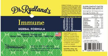 Dr. Rydland's - Hrbl Formula Immune - 1 Each - 4 FZ