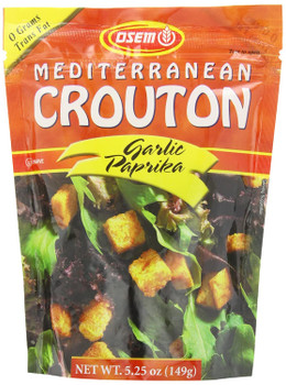 Osem Mediterranean Crouton - Case of 8 - 5.25 OZ