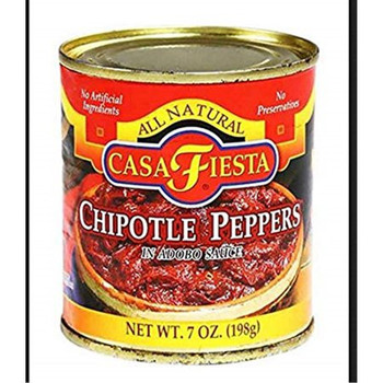 Casa Fiesta - Peppers Chipotle Can - 1 Each - 7.5 OZ
