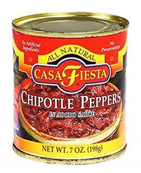 Casa Fiesta - Peppers Chipotle Can - Case of 12 - 7.5 OZ