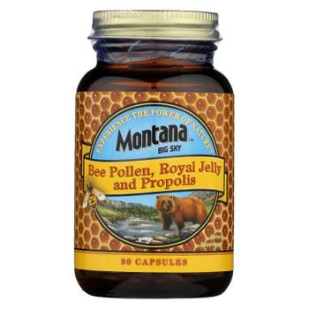 Honey Gardens - Bee Polln W/royl Jel&prop - 1 Each - 90 CT