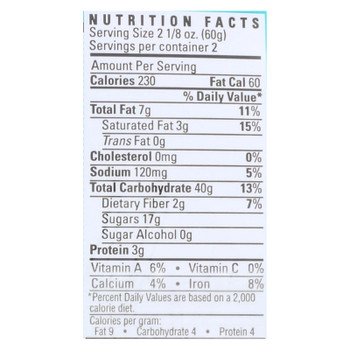 Alternative Baking Company - Cookie Chocolate Chip - Case of 6-4.25 oz