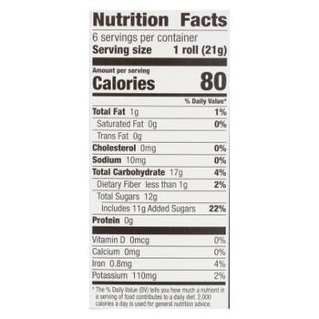 Annie's Fruit Snacks Bendy Berry - Case of 6 - 4.5 oz.