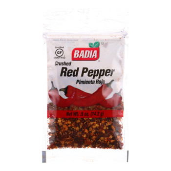 Badia Crushed Red Pepper  - Case of 12 - .5 OZ