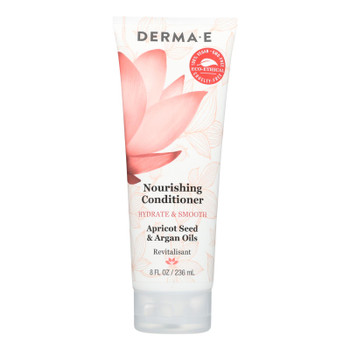 Derma-E Hydrate & Smooth Nourishing Conditioner, Apricot Seed And Argan Oil  - 1 Each - 10 FZ