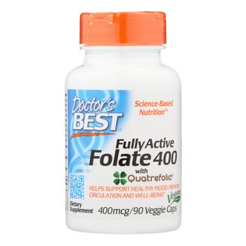 Doctor's Best - Folate Fully Actv Quadra - 1 Each-90 VCAP