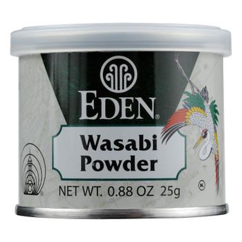 Eden Foods Wasabi Powder  - Case of 6 - .88 OZ