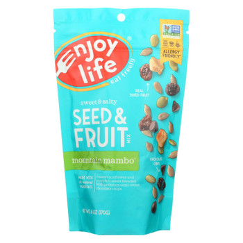 Enjoy Life Mountain Mambo Seed And Fruit Mix  - Case of 6 - 6 OZ