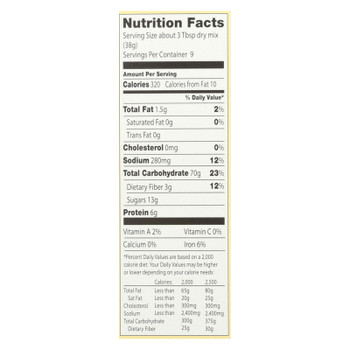 European Gourmet Bakery - Muffin Mix Cornmeal - Case of 6-16 OZ