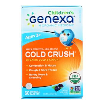 Genexa Children's Cold Crush  - 1 Each - 60 TAB