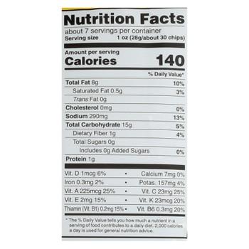 Good Health Sea Salt Veggie Chips  - Case of 10 - 6.25 OZ