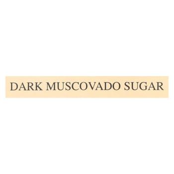 India Tree Gourmet Spices & Specialties Dark Muscovado  - Case of 6 - 16 OZ