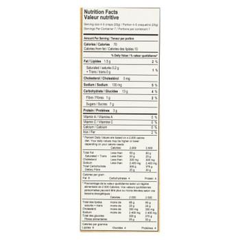 Kii Naturals Organic Cranberry & Cashew Artisan Crisps  - Case of 6 - 5.3 OZ