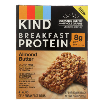 Kind Almond Butter Breakfast Bars - Case of 8 - 4/1.76OZ