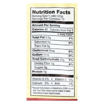 Lundberg Family Farms - Rice Cake Cinnamon Toast - 1 Each-9.5 OZ