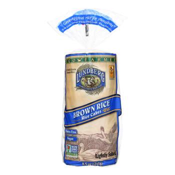 Lundberg Family Farms - Rice Cake Brown Salt - 1 Each-8.5 OZ