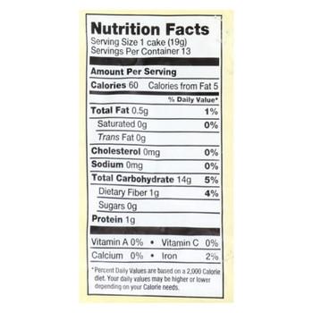 Lundberg Family Farms - Rice Cake Brown Ns - Case of 6-8.5 OZ