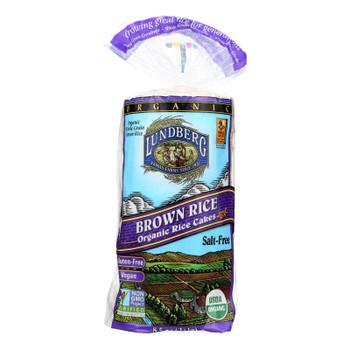 Lundberg Family Farms - Rice Cake Brown Ns - 1 Each-8.5 OZ