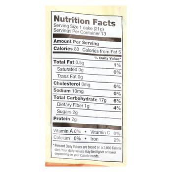 Lundberg Family Farms - Rice Cake Honey Nut - Case of 6-9.6 OZ