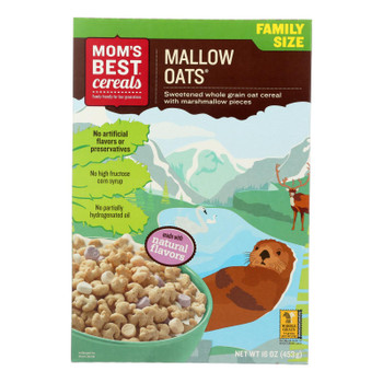 Mom's Best Cereals Mallow Oats  - Case of 10 - 16 OZ